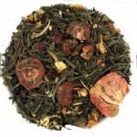 Green and White Tea Jasmine Fruits