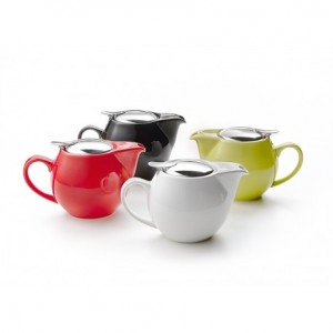 TOKYO RED 0.5 L teapot with stainless steel filter